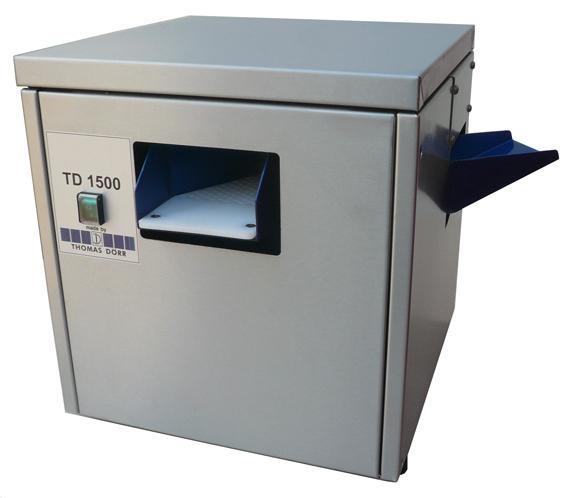 D Rr Besteckpoliermaschine TD1500 in unitess-Mitglieder auf der Hogatec - Thomas Dörr Besteck- und Küchensysteme