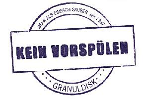 Granuldisk Kein-Vorspuelen in unitess auf der Internorga - Granuldisk mit Live Wash