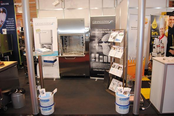 Unitess Hogatec Granuldisk 1 in Rückschau auf die Hogatec 2012