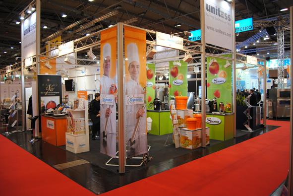 Unitess Hogatec Groupe-Nadia 1 in Rückschau auf die Hogatec 2012