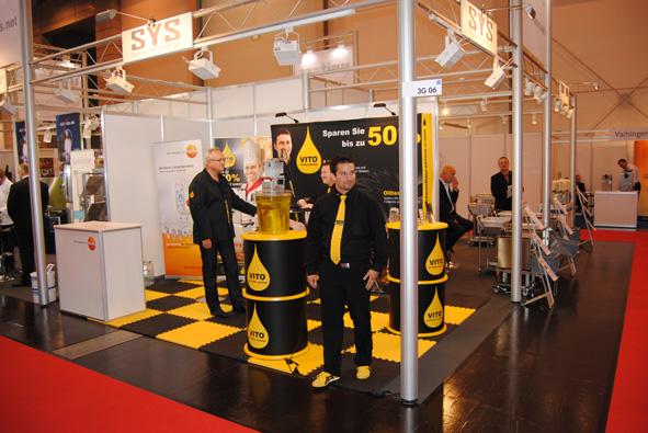 Unitess Hogatec SYS 1 in Rückschau auf die Hogatec 2012