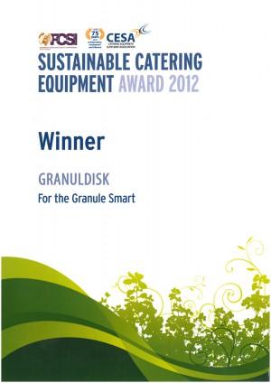 Unitess GRANULDISK FCSI CESA Award Winner 2012 300x424 in Granuldisk gewinnt Award 2012 vom FCSI