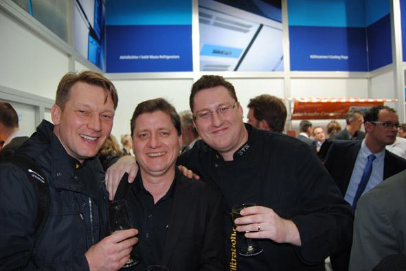 Unitess DSC 0931 in Messeabend mit dem Fachhandel während der Internorga