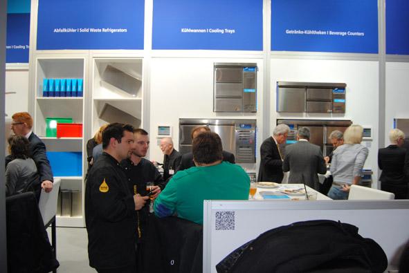 Unitess DSC 0933 in Messeabend mit dem Fachhandel während der Internorga