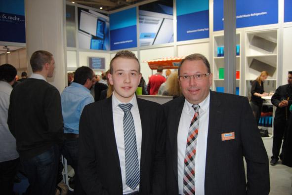 Unitess DSC 0938 in Messeabend mit dem Fachhandel während der Internorga