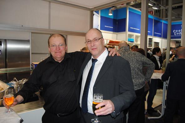 Unitess DSC 0944 in Messeabend mit dem Fachhandel während der Internorga