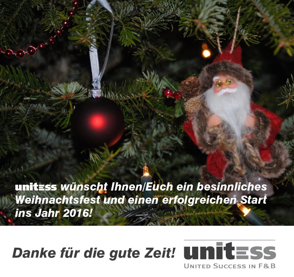 Weihnachten Unitess 2015 in Zum Jahresende ….