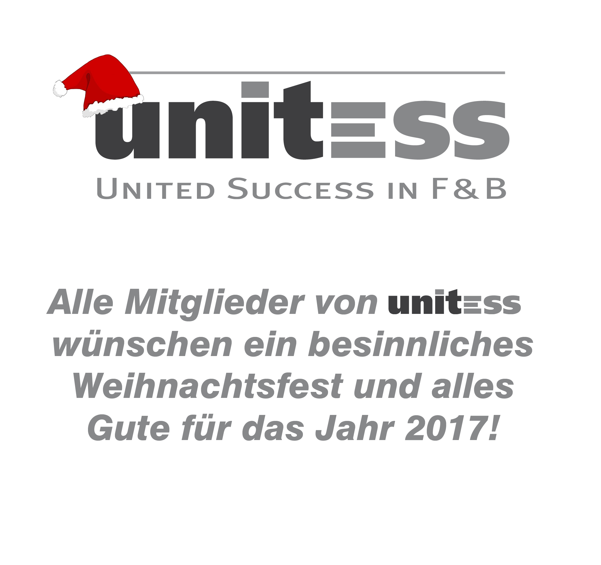 Weihnachten Unitess 2016 in