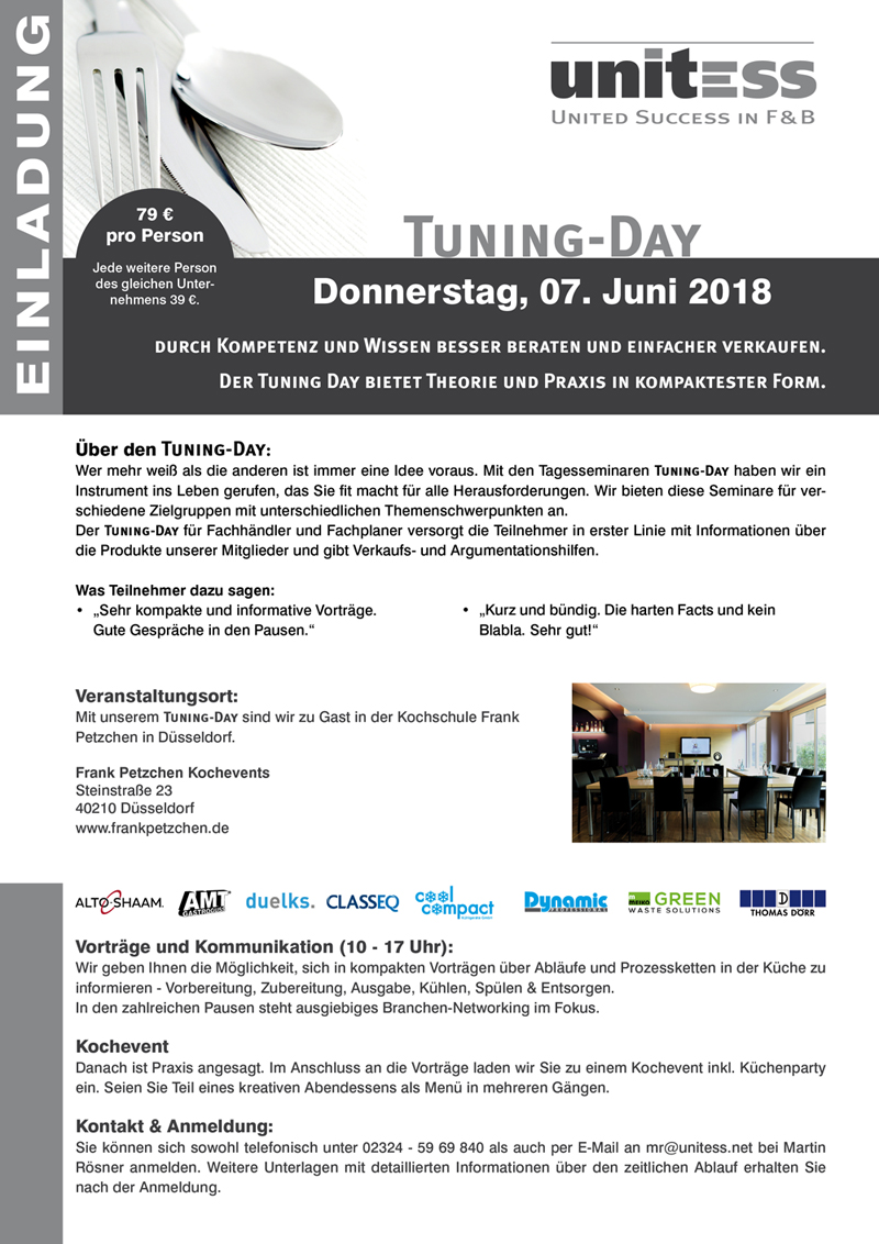 Unitess Einladung Tuning-Day 07062018 in